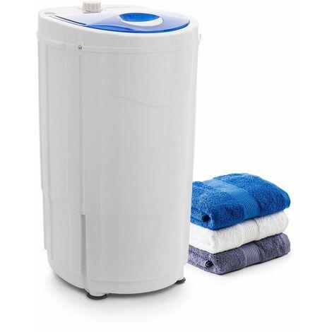 oneConcept Top Spin Compact Mini essoreuse à linge 45W 1,5kg minuterie blanche &