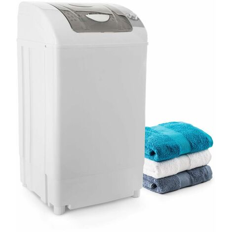 oneConcept Top Spin Family Mini essoreuse 3,8 kg 60W minuterie - blanche
