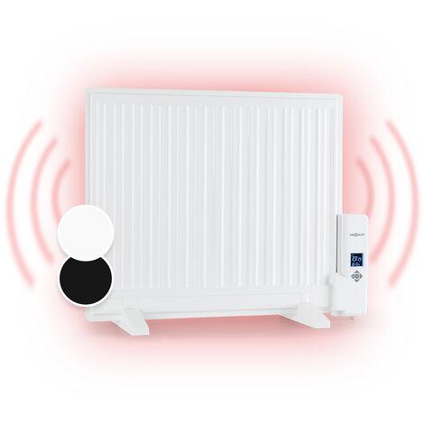 oneConcept Wallander Ölradiator 600W LED-Display Wochentimer weiß