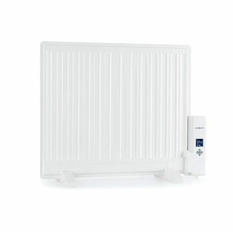 oneConcept Wallander Oil Radiator 600W LED Display Weekly Timer White