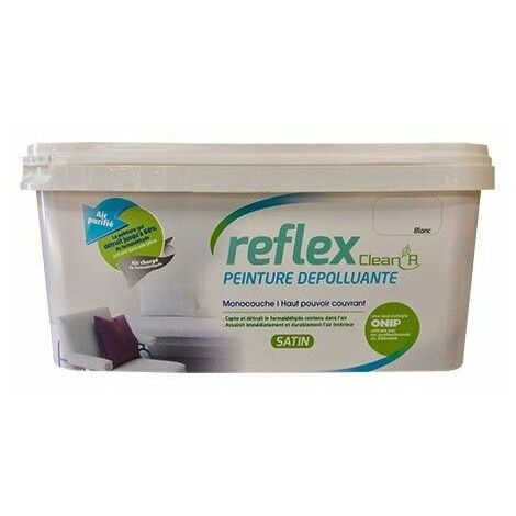ONIP Reflex Clean'R Peinture Dépolluante Blanc - 2,5 L