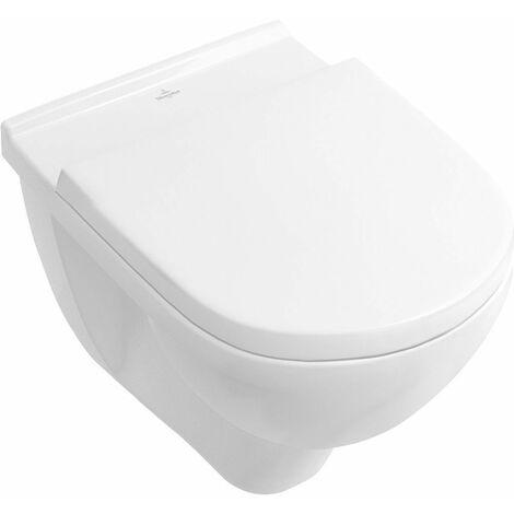 O.novo cuvette WC suspendue à fond creux sans bride Ceramic+ 560x360