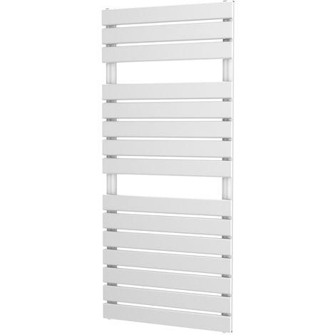 Onyx Typhon White Designer Heated Towel Rail White - choose size