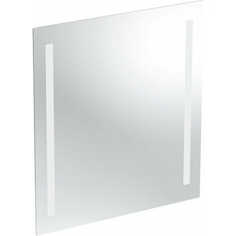 Opción espejo con luz Geberit, iluminación por ambos lados, anchura 60cm, 500586001 - 500.586.00.1