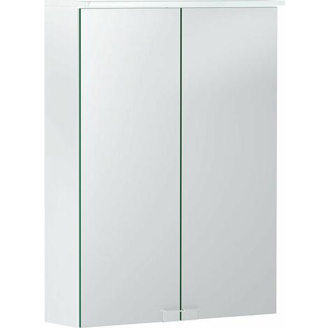 Opción Geberit Armario con espejo básico con iluminación, dos puertas, anchura 50cm, 500257001 - 500.257.00.1