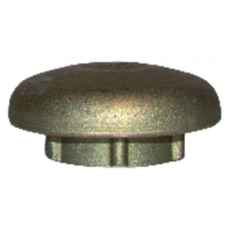 """Open air cap in brass ø 1"""""""