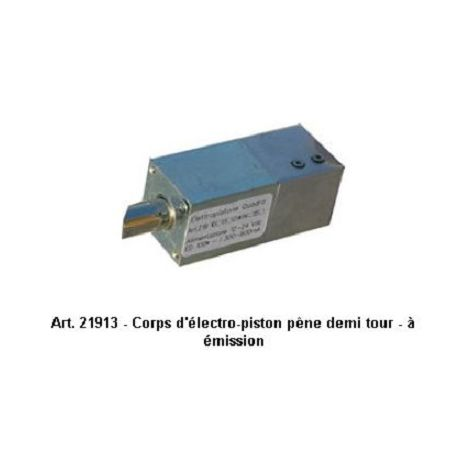 Opera 21913 Electro-piston bolt body half turn - to emission - 12/24 Vdc