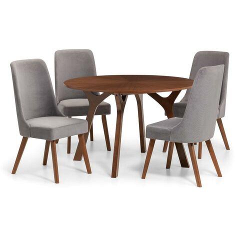 Ophelia ROUND TABLE WALNUT