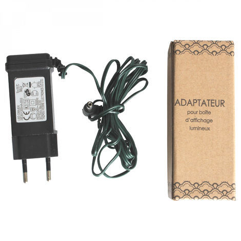Opjet 011564 Power Adaptater 2m for Box display bright