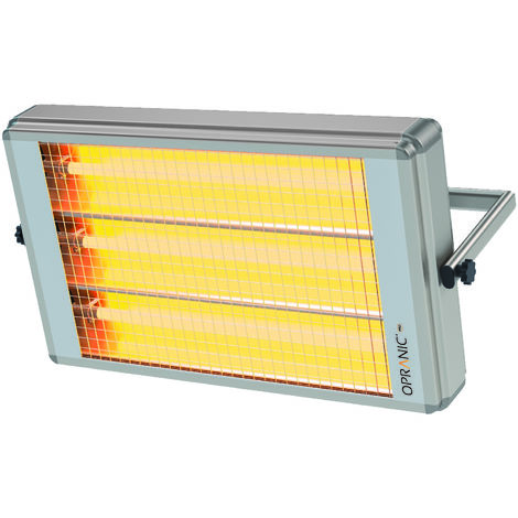 OPRANIC Industrial, Calefactor eléctrico de infrarrojos, IR mediumwave 6900W