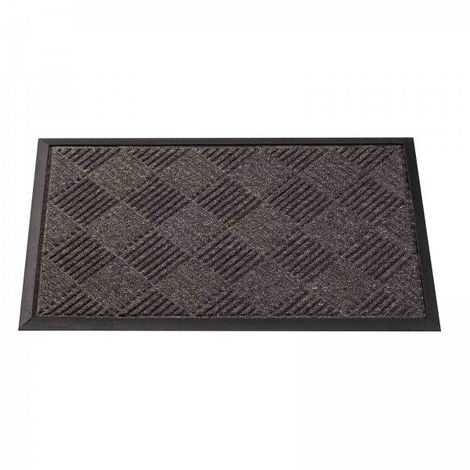 Opti-Mat Anthracite Chequered 75x45