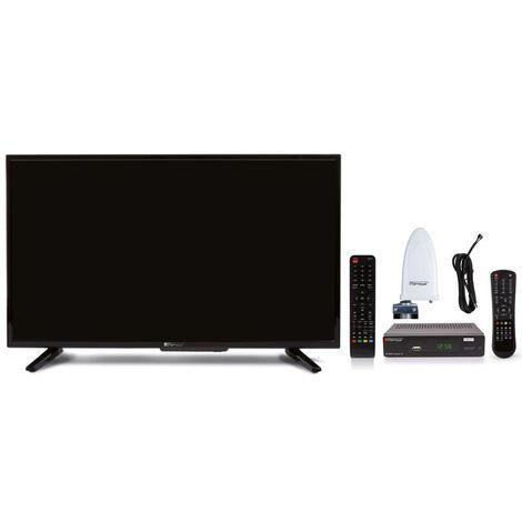 "OPTICUM Freenet TV Full HD Starter Set mit 32"" LED TV, DVB-T2 Receiver, Antenne und HDMI Kabel"