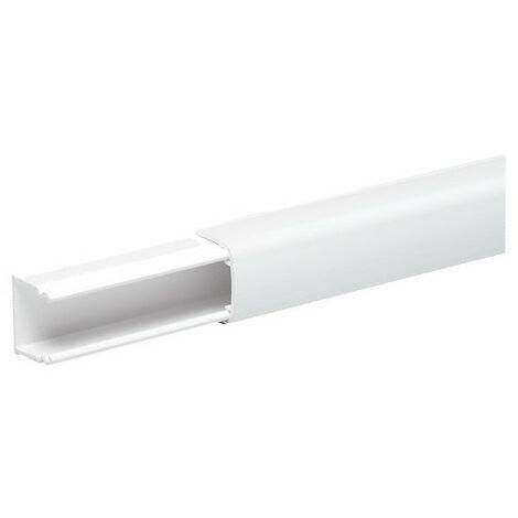 OptiLine Mini - moulure 12x20mm PVC blanc polaire 1 compartiment 2m