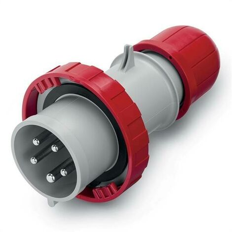 OPTIMA 16A SÉRIE FLYING PLUG 3P+N+T IP67 ROUGE 218.1637P