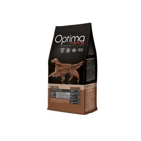 Optima Nova Adult Mature Chicken & Rice 12 Kg