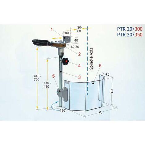 OPTIMUM 3020300 PROTECTOR TALADRO PTR-20/300