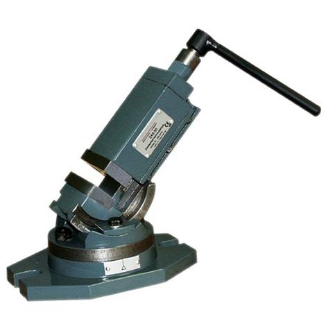OPTIMUM - OPT3354170 - Morsa A Vite A Due Assi Modello ZAS 50 - 50 mm