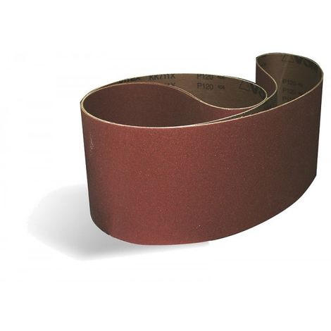 Güde Gewebe Schleifband Schleifpapier zu Bandschleifer K80 686 x 50mm 3 St.