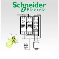 Option chauffe-eau électrique pour tableau Schneider Electric complet