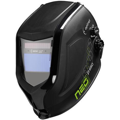 Optrel Neo P550 casco de soldador totalmente automático, clase óptica: 1/1/1/2 oscurecimiento totalmente automático