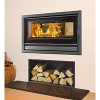 Opus Tempo 70 Double Sided Inset Wood Stove