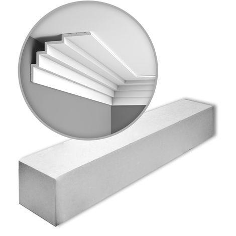 Orac Decor C393 MODERN STEPS 1 carton complet 7 Corniches Moulures Cimaises 14 m