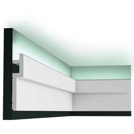 Orac Decor C395-box MODERN STEPS 1 Box 10 pieces Cornice mouldings 20 m