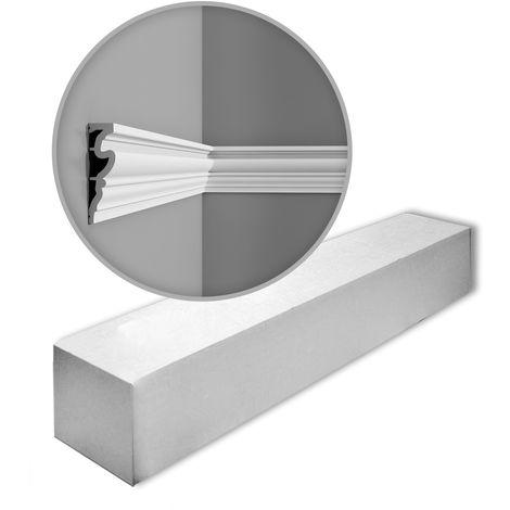 Orac Decor DX170-2300 LUXXUS 1 caja 8 piezas Cornisas Molduras Perfiles | 18,4 m