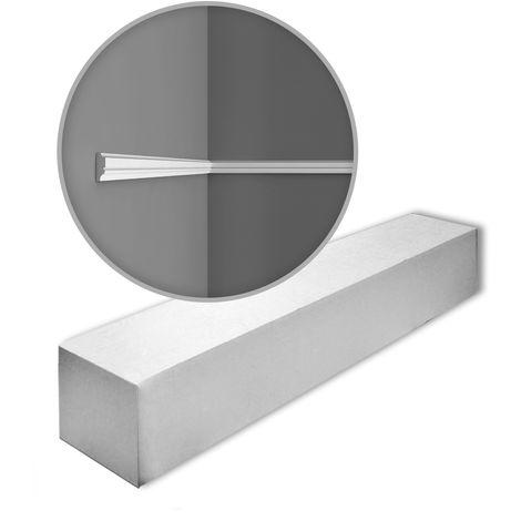 Orac Decor PX116 AXXENT 1 caja 10 piezas Cornisas Molduras Perfiles | 20 m