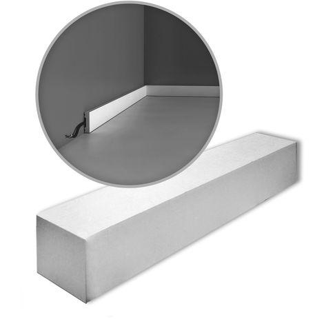 Orac Decor SX162-box-10 AXXENT SQUARE 1 caja 10 piezas Zócalo | 20 m