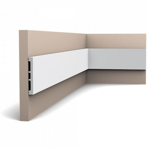 Orac Decor SX163-box AXXENT SQUARE 1 Box 26 pieces Skirtings 52 m