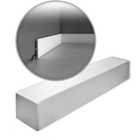 Orac Decor SX163-box AXXENT SQUARE 1 Box 26 pieces Skirtings | 52 m