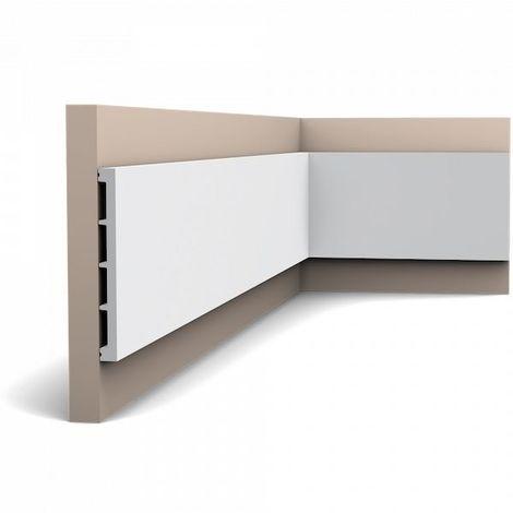 Orac Decor SX168-box AXXENT SQUARE 1 Box 17 pieces Skirtings 34 m