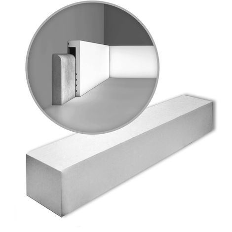 Orac Decor SX171 AXXENT 1 caja 20 piezas Zócalo | 40 m