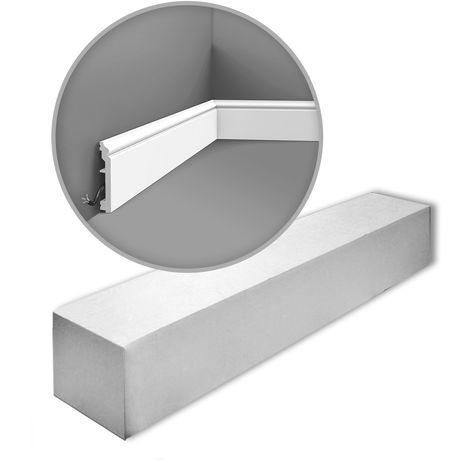 Orac Decor SX173-box AXXENT 1 carton 20 pièces Plinthes Moulures decoratives 40 m