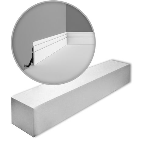 Orac Decor SX180 MODERN HIGH LINE 1 carton complet 16 Plinthes Moulures Cimaises 32 m
