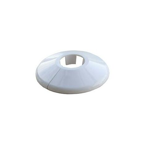 Oracstar 22mm White Pipe Collars - Pack of 5 For Plumbing