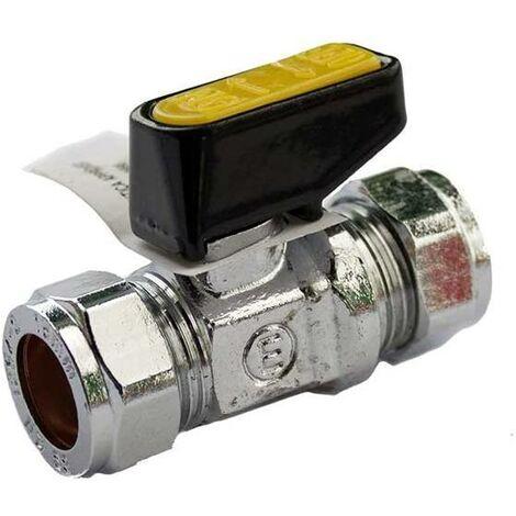 Oracstar Mini Gas Ball Valve - 15 x 15mm