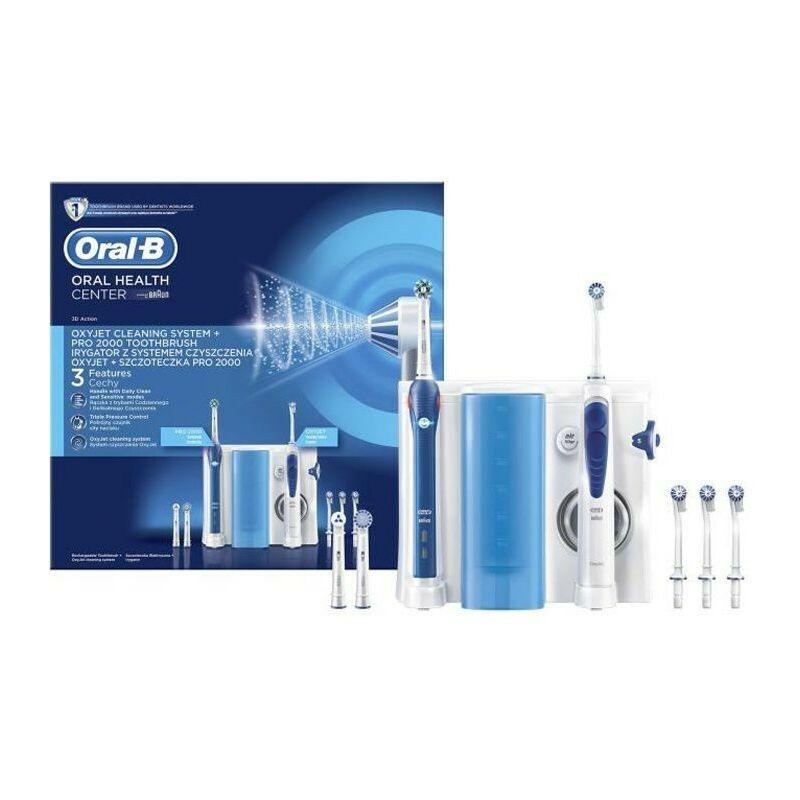 Oral-B Combiné Dentaire PRO 2000 + Hydropulseur Oxyjet