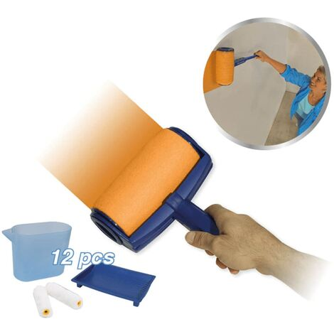 Orange Donkey Set de rodillo de pintura azul REA001