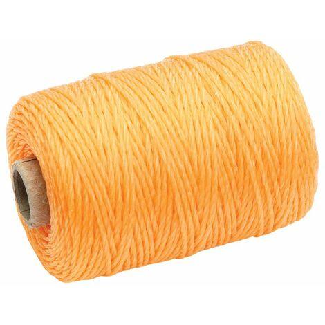 Orange Propylene Brick Line (100M) (27425)