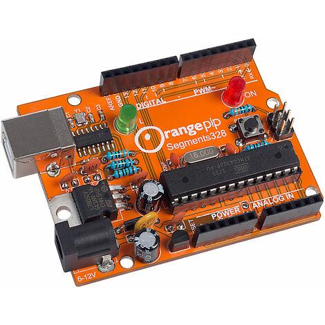 Orangepip Segments 328 Build your Own Arduino Kit