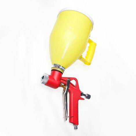 ORAZIO Construction Decoration Air Hopper Feed Texture Paint Spray Gun 3L