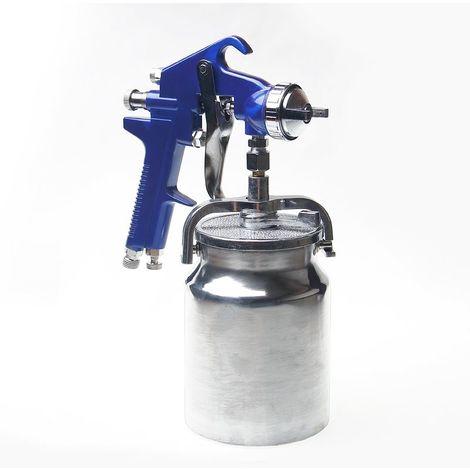 ORAZIO High Pressure Car Truck Furniture Air Paint Spray Gun Suction Type 1.8mm