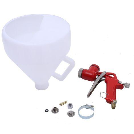 ORAZIO Hopper Feed Exterior Texture Paint Spray Gun Plastic Cup 5L 4mm 6mm 8mm