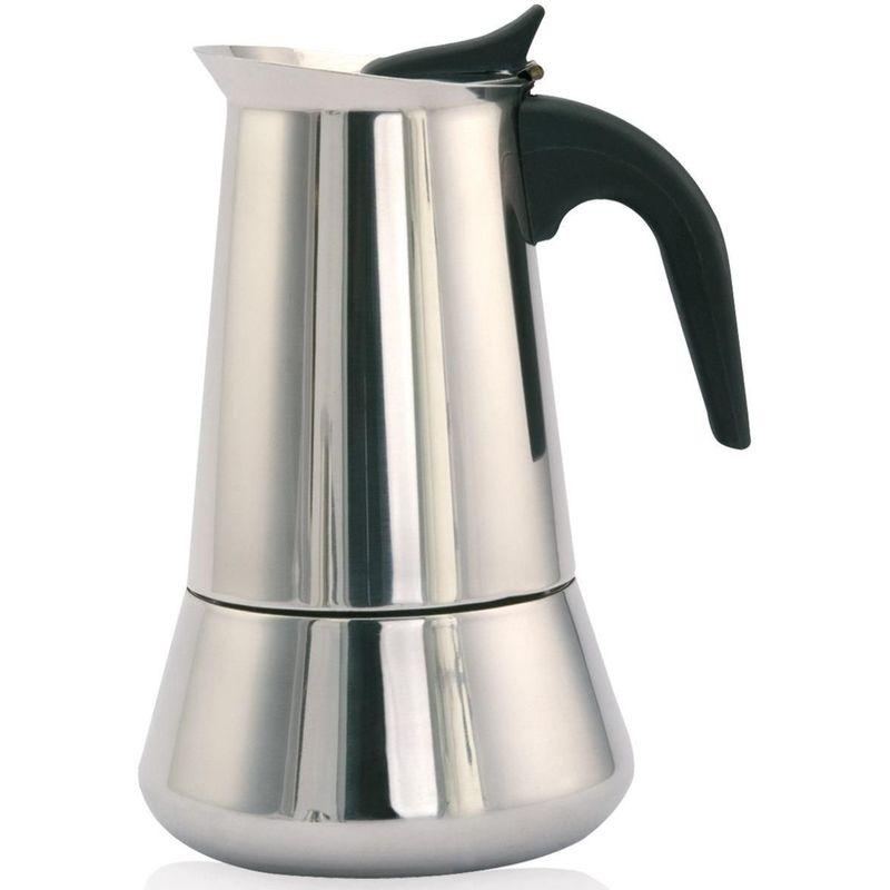 ORBEGOZO Cafetera inox KFI 660 6 TAZAS