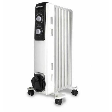 Orbegozo RF Radiador de aceite 1000 W - 2000 W RF 1000 1000 W