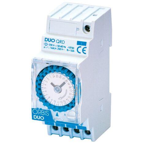 Orbis DUO QRD Interruptor de Tiempo con caballeros 2 Módulos OB292032
