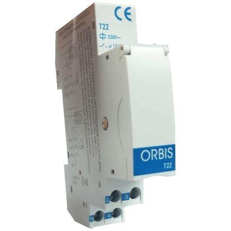 Orbis T22 Temporizador de la Luz de la Escala de los sistemas de 3/4 hilos OB063031