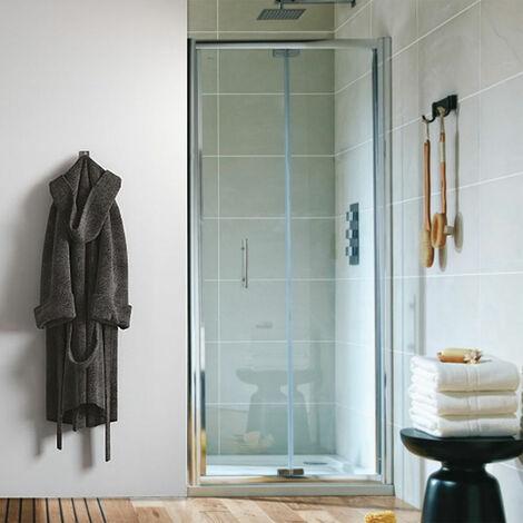 """main image of """"Orbit A6 Semi-Frameless Bi-Fold Shower Door 1000mm Wide - 6mm Glass"""""""